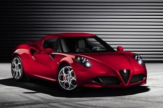 Alfa Romeo 4C - Leichtbau-Renner aus Modena