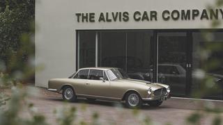 Alvis Graber Super Coupé - Resteverwertung der noblen Art