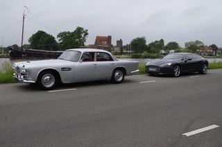 Impression Lagonda Rapide und Aston Martin Rapide - Rapide im Doppe...