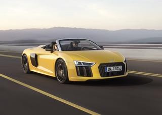Audi R8 Spyder V10 - Für Hochgeschwindigkeits-Schönwetterausfahrten
