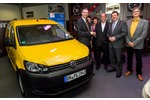 Abt VW Elektro Caddy - Hoch auf dem gelben E-Mobil