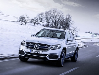 Mercedes GLC Fuel Cell - Verzögerungstaktik
