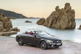 Modellpflege Mercedes C-Klasse Coupé / Cabrio - Nachzieher