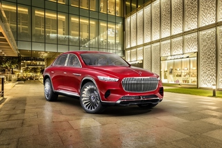 Vision Mercedes Maybach Ultimate Luxury - Traumwagen