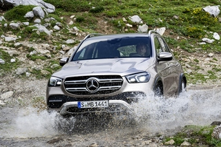 Mercedes GLE 2019 - Ab ins Gelände