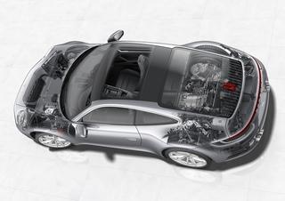 Die Technik im Porsche 911 / 992 - Schwer verliebt