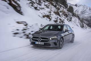 Mercedes A 250 4matic - Vier Jahreszeiten
