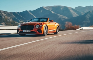 Bentley Continental GT Cabrio - Hart am Wind