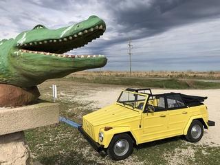 Im VW 181 durch die Südstaaten der USA - Die gelbe Geburtstagstour