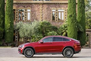 Mercedes GLC Coupé Modellpflege - Coupégefühle zeigen