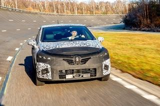 Erste Fahrt im Renault Clio V - Seitenwechsel