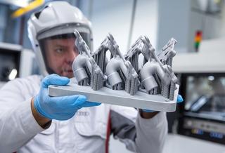 3D-Laserdruck in der Fahrzeugproduktion - Autoteile aus dem Drucker