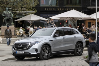 Mercedes EQC 400 4Matic - Leisetreter