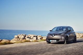 Renault Zoe mit Carsharing Tecnik - Einnahmequelle
