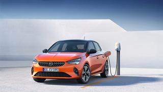 Opel Corsa-e - Blitzschlag