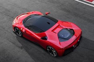 Ferrari SF 90 Stradale - Pferd mit Stecker