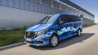 Mercedes EQV auf Erprobungstour - V-Klasse elektrisiert