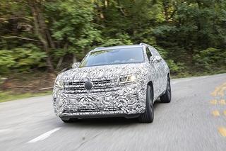 erste Fahrt im VW Atlas Cross Sport - Exportschlager