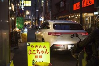 Im Mercedes EQC auf den Straßen von Tokio - Tokio Tower