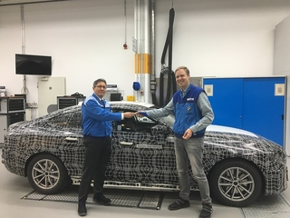 David Ferrufino - der Mann hinter dem BMW i4 - Der elektrische Reiter