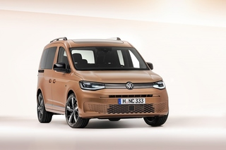VW Caddy 2020 - Hoch zu Ross