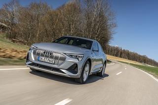Audi e-tron Sportback 55 quattro - Kleider machen Leute