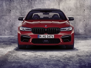 BMW M5 Competition - Druckwelle