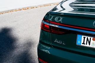 Audi A8 PHEV - Lautlos gleiten