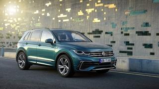 VW Tiguan 2021 - Elektrisch - auf dem halben Weg