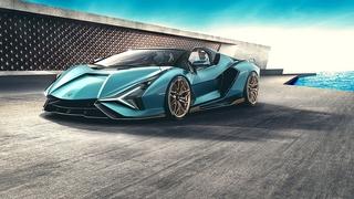 Lamborghini Sián Roadster - Potzblitz