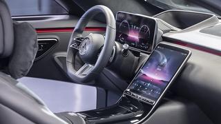 Der Innenraum der neuen Mercedes S-Klasse W 223 - Neue Wege
