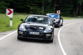 Erprobung Porsche Panamera 2021 - In die nächste Runde