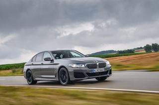 BMW 545e xDrive - Brücken-Fahrzeug