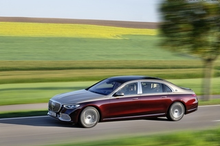Mercedes Maybach S-Klasse - Thronverfolger