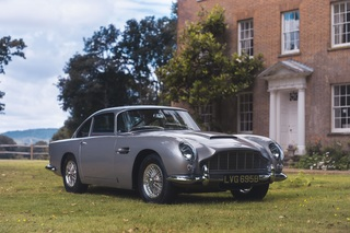Aston Martin DB5 über Vero verkauft - Ein schneller Fingertipp