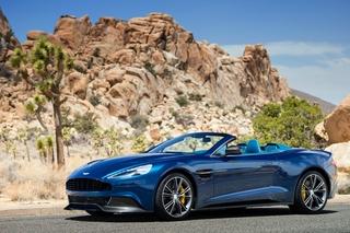 Aston Martin Vanquish Volante - Hut ab beim Zwölfzylinder
