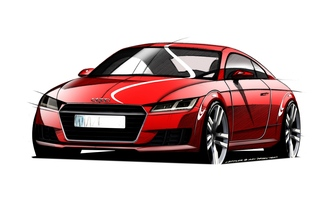 Audi TT - Sprungbereit mit bösem Blick