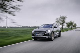 Fahrbericht: Audi Q4 e-tron  -  Audis Volks-Stromer