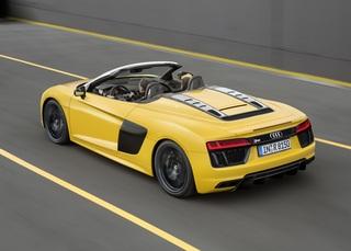 Audi R8 Spyder - Ultraschnelles Präsentiertablett (Kurzfassung)