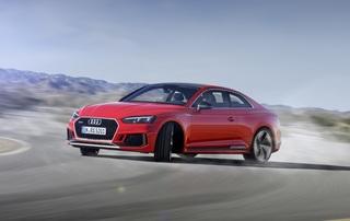 Audi RS5 - Mächtig geladen