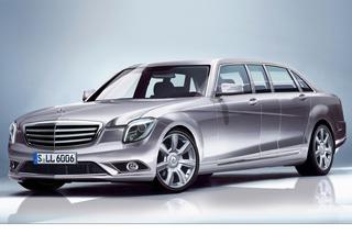 Mercedes-Pläne - Pullmann statt Maybach