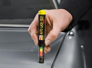 Autolack-Tester von Haible Automobile - Blender einfach entlarven