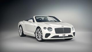 Sondermodell Bentley Continental GT Convertible - Blau-Weiße-Hommag...