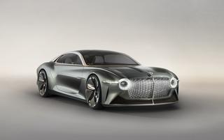 Bentley-Studie EXP 100GT - Glänzende Aussichten