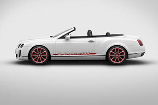 Bentley Continental Supersports Cabrio ISR - Rekordwagen für die St...