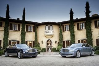 Bentley Mulsanne - Luxus mit passender Handtasche