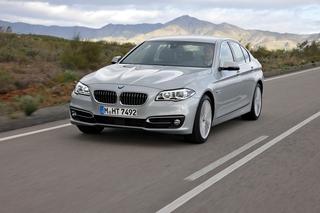 BMW 5er-Reihe - Jetzt segeln sie auch