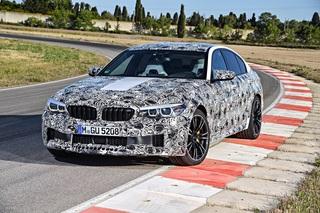 Prototypenfahrt im BMW M5   - Vier gewinnt