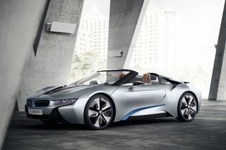 BMW i8 Spyder Concept - Neue Runde für den Öko-Sportler