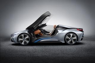 BMW i8 Spyder - Offen für Elektroantrieb